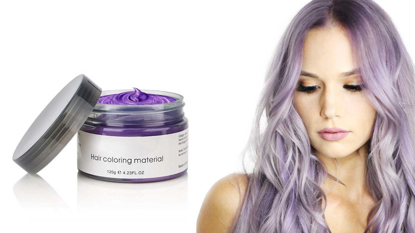 Hair colour gel
