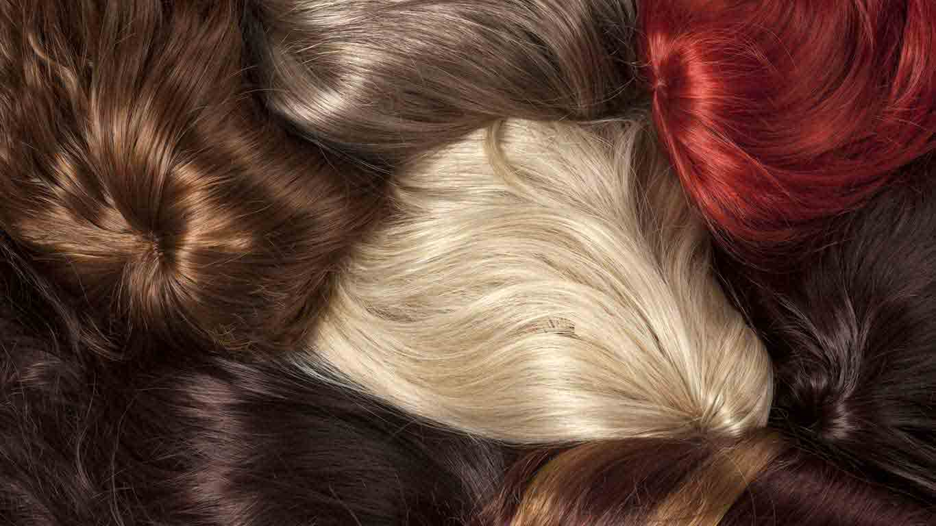 What is synthetic and human hair